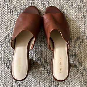 Cole Haan Brown Heeled Sandal